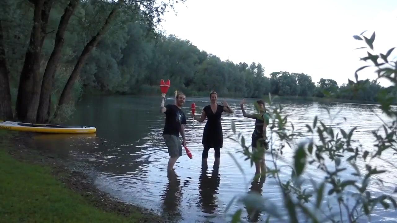 Filming at Lake Konstanz 2018